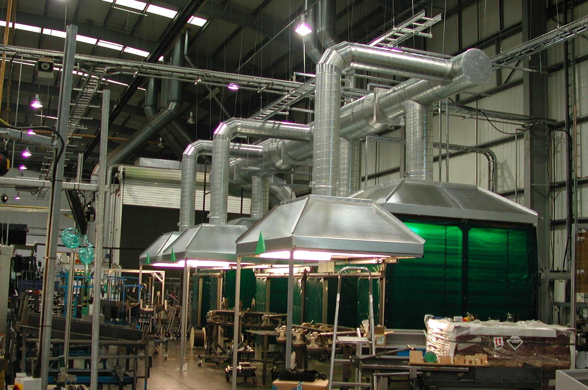 Проект вентиляции производственного помещения