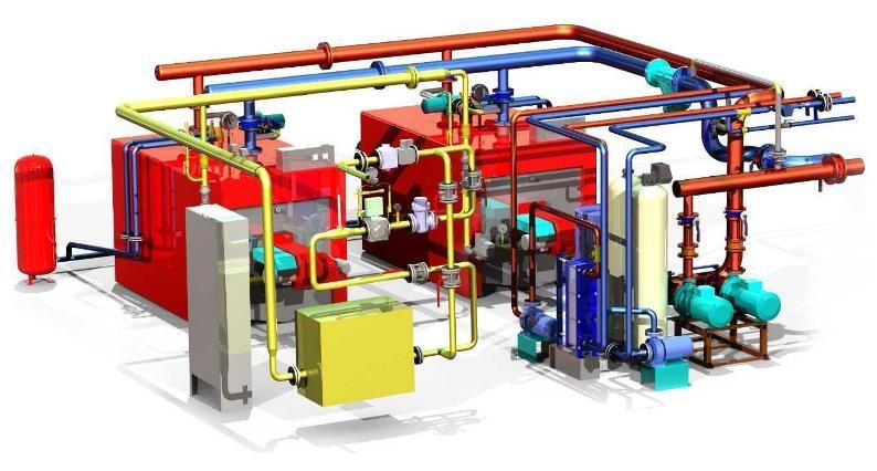 Проектирование котельных отопление в Минске